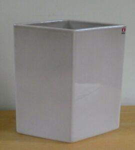 "iittala Finland R&E Bouroullec 9"" Dusky Pink Ceramic Ruutu Vase (BNWOT)"