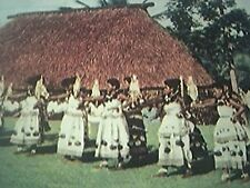 ephemera picture - 1954 fiji albert park suva fijians dance