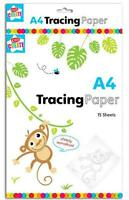 Children's Kids A4 Tracing Paper 10 Sheets Art Craft School Home Office Activity