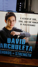 """David Archuleta Autographed Book - American Idol Runner Up! """"Chords Of Strength"""""""