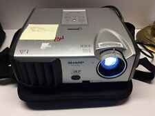 Sharp PG-F212X-L DLP Projector With Matching Carrying Case, Preowned, Works R41