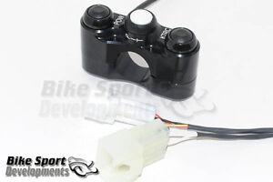 Kawasaki ZX10 2011_2015, 3 button handlebar switch, POW_KTRC_PIT (kit ECU only)