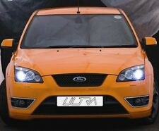 Ford Focus Mk2 (04-08) Black Halo Angel Eye Projector Front Headlights Lights
