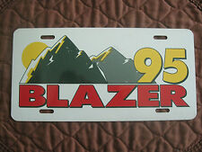 1995 Chevy Blazer license plate