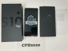 Samsung Galaxy S10+ Plus SM-G975U 512GB Ceramic Black GSM Phone - Unlocked
