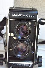 Mamiya C330f 6x6 Kamera mit Sekor 2.8/80mm und Tasche
