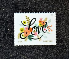 2018USA #5255 Forever Love Series (Flourishes) Single Stamp Postage  Mint NH