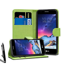 For Various LG Phone Leather Flip Wallet Case Magnetic Cover + Stylus + Screen