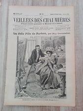 Journal illustré 1909  - Veillées des Chaumières - 04 Août - La Jolie Fille..