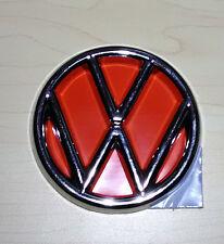VW BUG VINTAGE EMBLEM Sticker FRONT HOOD Nameplate 1960-79 BEETLE TYPE1 6.5cm