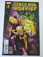 Marvel Comics Power Man Iron Fist #1 2016 NM//M Action Figure D-Variant
