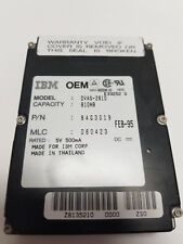 "IBM OEM Internal Hard Drive HDD - 810MB 2.5"" - DVAS-2810 - 84G3019"