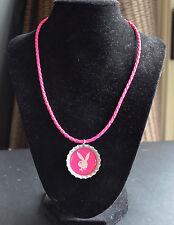 "Playboy 18"" Pink Bottle Cap Necklace - NEW"