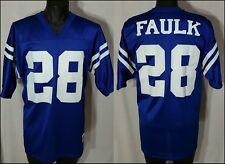 Vtg Marshall Faulk 28 Indianapolis Colts Nfl Football Jersey sz L Logo Athletic