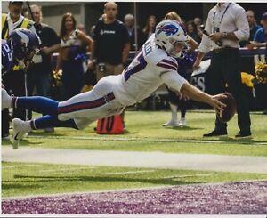 Josh Allen Diving touchdown TD 8x10 photo Buffalo Bills