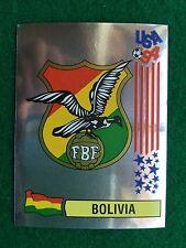 USA 94 1994 n 225 SCUDETTO BADGE BOLIVIA Figurina Sticker Panini NEW