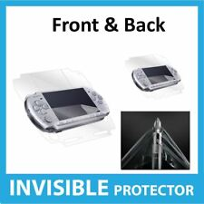 Sony PSP 3000 Screen Protector Front & Back Coverage Invisible Skin Shield