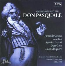 FREE US SHIP. on ANY 3+ CDs! ~Used,Good CD Donizetti, G.: Donizetti: Don Pasqual