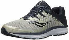 Saucony Mens Running Shoes Guide ISO Cross Country SNEAKERS Breathable Grey 12