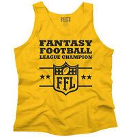 Fantasy Football Champion Sports Draft Team Tank Tops T-Shirts Tshirt For Mens