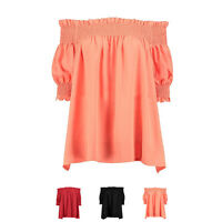 New Fashion Sexy Women Lady Summer Blouse Off Shoulder Loose Casual T Shirt Tops