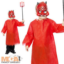 Devil Fancy Dress Girls/Boys Halloween Costume 5 6 7 8