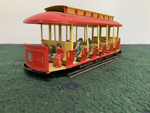 "Pride Lines Standard Gauge #202 Body-W/passengers""New Old Stock""USA Tinplate"