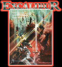 80's Fantasy Classic Excalibur Poster Art custom tee Any Size Any Color