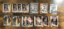 2016-17 Prizm KLAY THOMPSON 14 Card LOT Blue Wave, Red Wave, 2014-15 Prizms Also