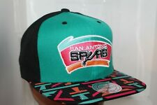 San Antonio Spurs Mitchell & Ness NBA Diamond 2-T Snapback,Hat,Cap      $ 38 NEW