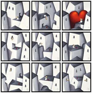 Peter Smith Love Will Always Find You Limited Edition Box Canvas set of 9
