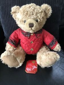 Harrods 2014 Christmas Bear - Jasper - With Tag Unattached