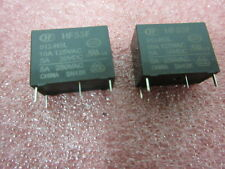 Subminiature HIgh Power PCB Relay 12v 10A 10 Amp Intermediate HF33F 5 PACK £1ea