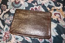 Marc Jacobs Leather Clutch for Neiman Marcus Golden Black
