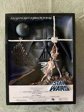 Code 3 Collectibles Star Wars A New Hope Style A Movie Poster Sculpture 854/3000