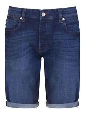Cotton Denim Regular Big & Tall Shorts for Men