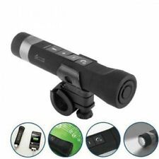BLUETOOTH WIRELESS SPEAKER BIKE BICYCLE LED FLASHLIGHT PHONE CALL POWER BANK