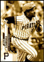 Willie Stargell 2020 Topps Short Print Variations 5x7 Gold #375 /10 Pirates