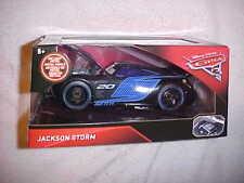 "DISNEY PIXAR CARS 3  ""JACKSON STORM"" 2017 JADA 1/24 SCALE DIECAST CAR VHTF NEW"