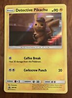DETECTIVE PIKACHU Pokémon Card Movie Promo SM190 - FREE SHIPPING