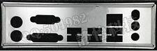 MSI I/O IO Shield BLENDE MSI 860GM-P43/MSI 760GM-P23 (FX) MOTHERBOARD #524 XH