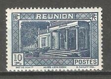 Reunion 1933,10fr,Scott # 165,VF Mint Lightly hinged OG