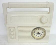 Jolie PENDULETTE Poste de Radio Transistor MERCEDES Pendule Horloge Art Déco