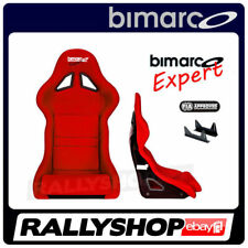 BIMARCO Seat FIA Racing EXPERT RED with fixing brakets CHEAP DELIVERY WORLDWIDE