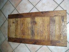 Tischplatte Platte Holz Waschtischplatte Arbeitsplatte alte Dielen Altholz