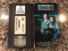 Watchers 2 II Vhs! 1990 Horror! Demon Seed Species II Dead Space Extro The Fly