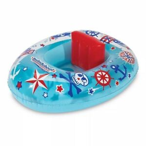 Lil skipper baby(6-18 m) boat adjustable backrest (28in inflated) level 1 Swim