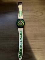 Vintage Gordy Time Mighty Morphin Power Rangers Watch White team 1994 Saban