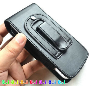 Leather Pocket Case for Samsung Galaxy S9 8 s7 6 Cover Pouch Flip Case Belt Clip