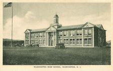 POSTCARD AMERICA USA WASHINGTON HIGH SCHOOL